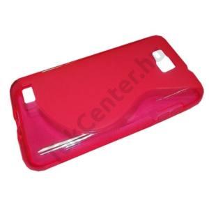 Samsung Ativ S (GT-I8750) Telefonvédő gumi / szilikon (S-line) RÓZSASZÍN