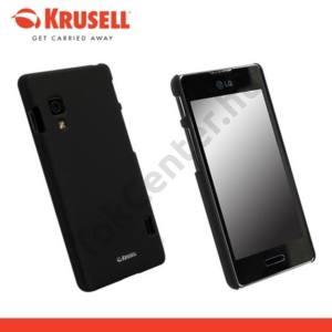 LG Optimus L5 II. (E460) KRUSELL ColorCover műanyag telefonvédő, METÁLFEKETE