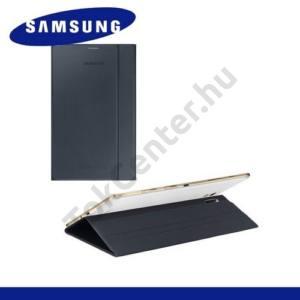 Samsung Galaxy Tab S 8.4 LTE (SM-T705) Műanyag telefonvédő (FLIP, oldalra nyíló, asztali tartó funkció) FEKETE