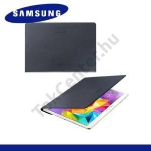 Samsung Galaxy Tab S 10.5 LTE (SM-T805) Telefonvédő, bőr Simple Cover (előlap védelem) FEKETE