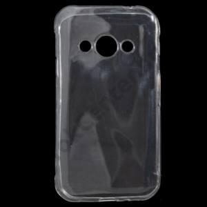 Samsung Galaxy Xcover 3 (SM-G388) Telefonvédő gumi / szilikon (ultravékony) ÁTLÁTSZÓ
