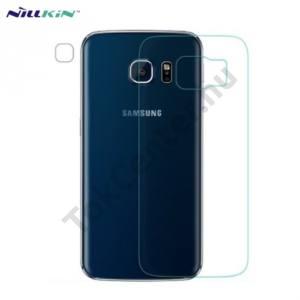 Samsung Galaxy S6 EDGE (SM-G925F) NILLKIN képernyővédő fólia törlőkendővel (hátsó, 1 db-os, edzett üveg, karcálló, 9H) TEMPERED GLASS