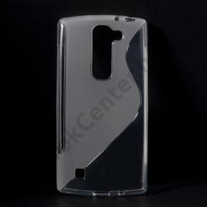 LG Magna (C90) Telefonvédő gumi / szilikon (S-line) ÁTLÁTSZÓ