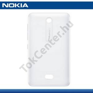 Nokia 501 Asha Akkufedél FEHÉR