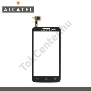 Alcatel XPop (OT-5035D) Plexi ablak, érintőpanellel FEKETE