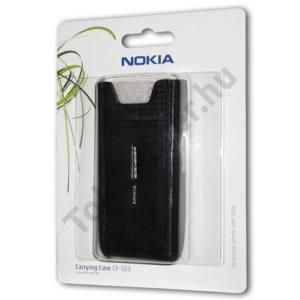 Nokia N8-00 Tok álló, bőr (képernyőtisztító belső felülettel) FEKETE
