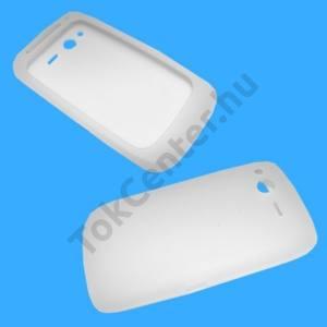 HTC Desire S  (Saga Telefonvédő gumi / szilikon FEHÉR