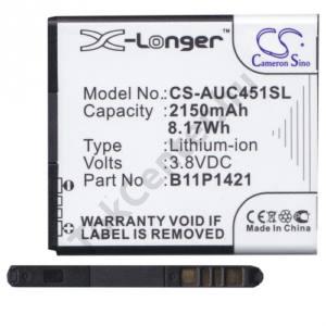 Asus Zenfone C (ZC451CG) Akku 2150 mAh LI-ION (C11P1501 kompatibilis)