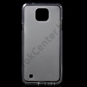 LG X Cam Telefonvédő gumi / szilikon (fényes keret) ÁTLÁTSZÓ