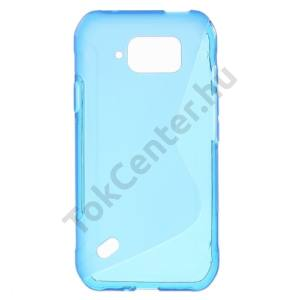 Samsung Galaxy S6 Active (SM-G890) Telefonvédő gumi / szilikon (S-line) KÉK