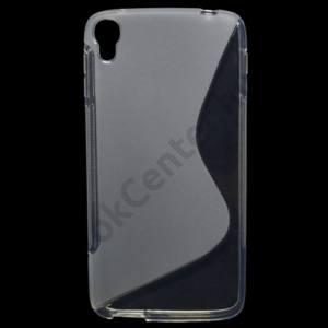 Alcatel Idol 3 5.5`` (OT-6045Y) Telefonvédő gumi / szilikon (S-line) ÁTLÁTSZÓ