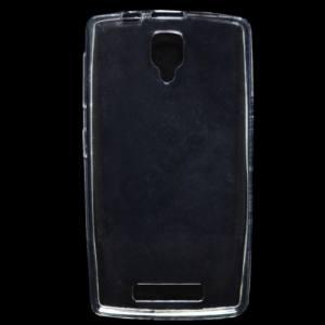 Lenovo A1000 Telefonvédő gumi / szilikon (ultravékony) ÁTLÁTSZÓ