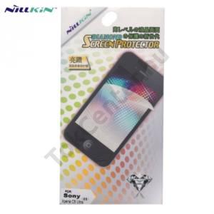 Sony Xperia C5 Ultra NILLKIN képernyővédő fólia törlőkendővel (első és hátsó, ujjlenyomat mentes) BRIGHT DIAMOND