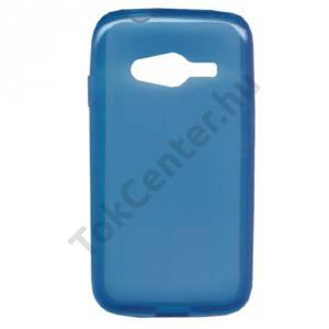 Samsung Galaxy Ace NXT (SM-G313H) Telefonvédő gumi / szilikon (fényes keret) KÉK
