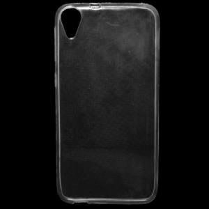 HTC Desire 820 Telefonvédő gumi / szilikon (ultravékony) ÁTLÁTSZÓ