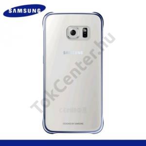 Samsung Galaxy S6 (SM-G920) Műanyag telefonvédő ÁTLÁTSZÓ/SZÜRKE