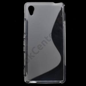 Sony Xperia M4 Aqua (E2303) Telefonvédő gumi / szilikon (S-line) ÁTLÁTSZÓ