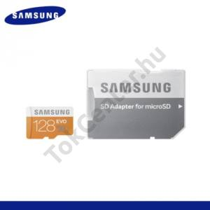 MEMÓRIA KÁRTYA TransFlash 128 GB (microSDHC EVO - Class 10, UHS-1) + SD adapter
