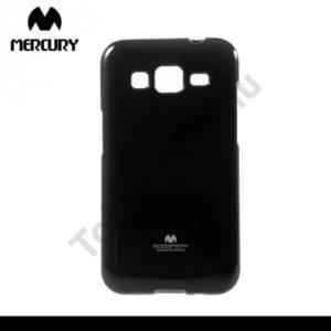 Samsung Galaxy Core Prime (SM-G360) MERCURY Goospery telefonvédő gumi / szilikon (csillámporos) FEKETE