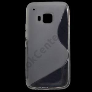 HTC One 2015 (M9) Telefonvédő gumi / szilikon (S-line) ÁTLÁTSZÓ