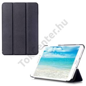 Samsung Galaxy Tab S2 9.7 (SM-T810) WIFI Tok álló, bőr (FLIP, oldalra nyíló, TRIFOLD asztali tartó funkció) FEKETE