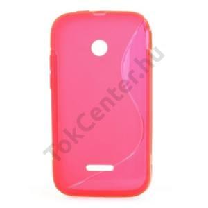 Huawei Ascend Y210 (U8685) Telefonvédő gumi / szilikon (S-line) RÓZSASZÍN
