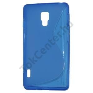 LG Optimus L7 II. (P710) Telefonvédő gumi / szilikon (S-line) KÉK