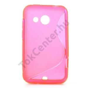 HTC Desire 200 Telefonvédő gumi / szilikon (S-line) RÓZSASZÍN
