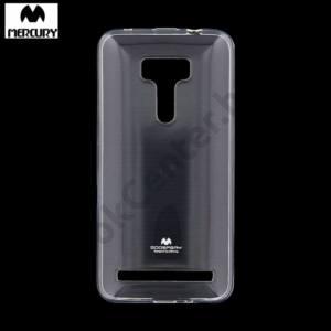 Asus Zenfone Max (ZC550KL) MERCURY Goospery telefonvédő gumi / szilikon ÁTLÁTSZÓ