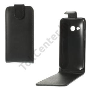 HTC One Mini 2 Tok álló, bőr (FLIP, mágneses) FEKETE