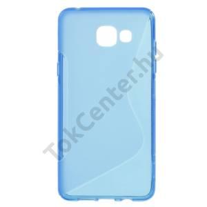 Samsung Galaxy A5 (2016) (SM-A510F) Telefonvédő gumi / szilikon (S-line) KÉK
