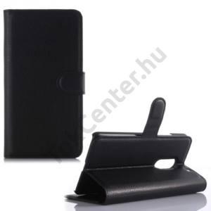 Lenovo Vibe X3 Tok álló, bőr (FLIP, oldalra nyíló, asztali tartó funkció) FEKETE
