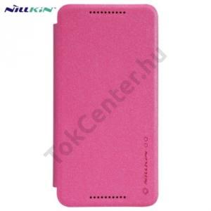 LG Nexus 5X (H791) NILLKIN SPARKLE műanyag telefonvédő (mikroszálas bőr flip, oldalra nyíló) MAGENTA