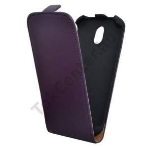 HTC Desire 310 Tok álló, bőr (FLIP, mágneses) LILA