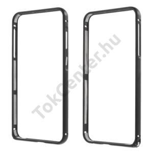 HTC One A9 Telefonvédő alumínium keret (BUMPER) FEKETE