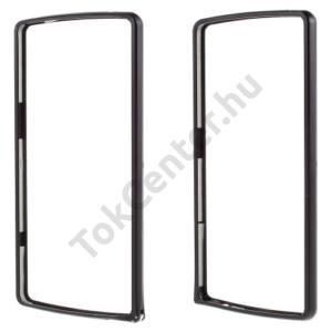 LG V10 (H960A) Telefonvédő alumínium keret (BUMPER) FEKETE