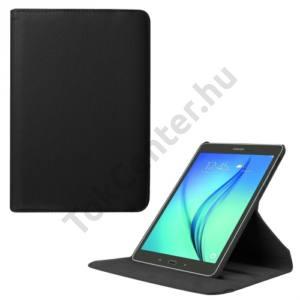 Samsung Galaxy Tab S2 8.0 (SM-T710) WIFI Tok álló, bőr (FLIP, asztali tartó funkció, 360°-ban forgatható) FEKETE
