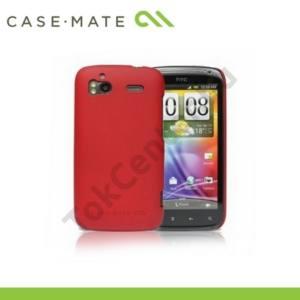 HTC Sensation (Z710e) CASE-MATE műanyag telefonvédő BARELY THERE - PIROS