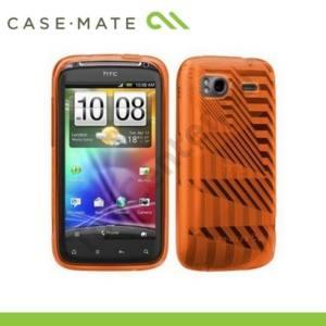 HTC Sensation (Z710e) CASE-MATE telefonvédő gumi GELLI - architecture NARANCS