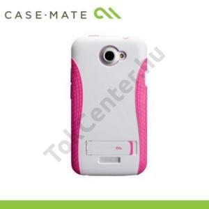 HTC One X (S720e) CASE-MATE műanyag telefonvédő, kitámasztó, POP! - RÓZSASZÍN