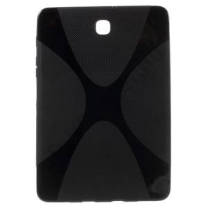 Samsung Galaxy Tab S2 8.0 (SM-T710) WIFI Telefonvédő gumi / szilikon (X-line) FEKETE