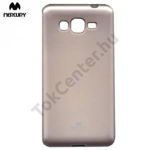 Samsung Galaxy Grand Prime (SM-G530F) MERCURY Goospery telefonvédő gumi / szilikon (csillámporos) ARANY