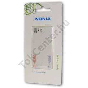 Nokia C5-03 Képernyővédő fólia (2 db-os) CLEAR