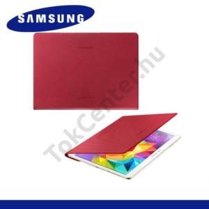 Samsung Galaxy Tab S 10.5 LTE (SM-T805) Telefonvédő, bőr Simple Cover (előlap védelem) PIROS