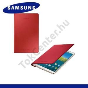 Samsung Galaxy Tab S 8.4 LTE (SM-T705) Telefonvédő, bőr Simple Cover (előlap védelem) PIROS