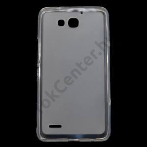 Huawei Ascend G750 Telefonvédő gumi/szilikon (fényes keret) ÁTLÁTSZÓ