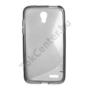 Alcatel Pop S3 (OT-5050Y) Telefonvédő gumi / szilikon (S-line) SZÜRKE