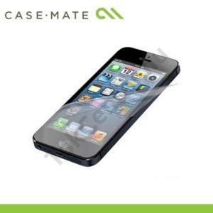 Apple iPhone 5 CASE-MATE képernyővédő fólia (2 db-os, törlőkendővel) FINGERPRINT