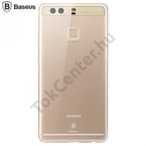 Huawei P9 Plus BASEUS AIR telefonvédő gumi / szilikon (0.6 mm, ultravékony, porálló) ÁTLÁTSZÓ