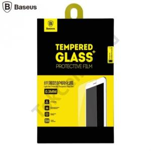Huawei P9 lite BASEUS képernyővédő fólia törlőkendővel (1 db-os, 0.3 mm, ultravékony, edzett üveg, karcálló, 9H) TEMPERED GLASS